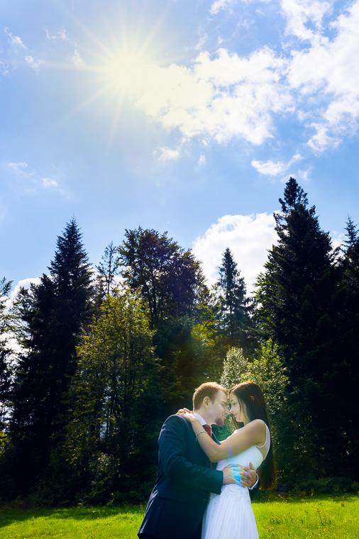 Plener w górach - fotografia ślubna