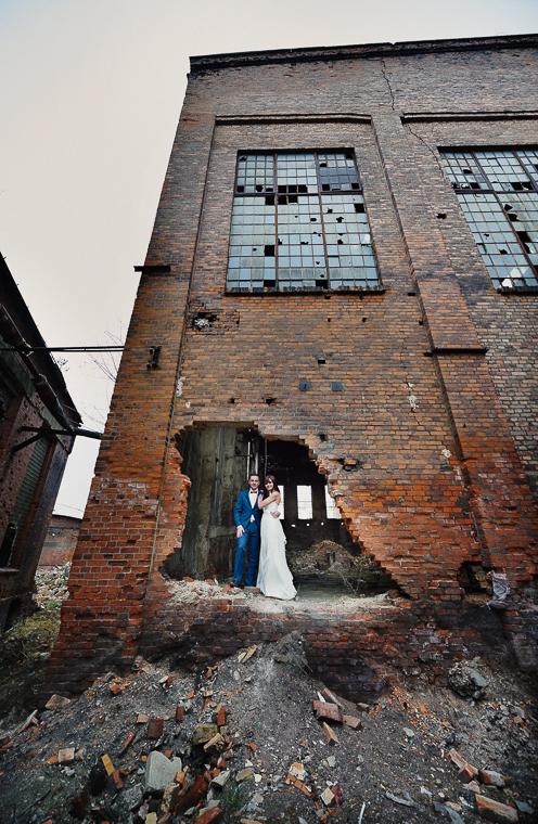 ruiny - fotografia ślubna