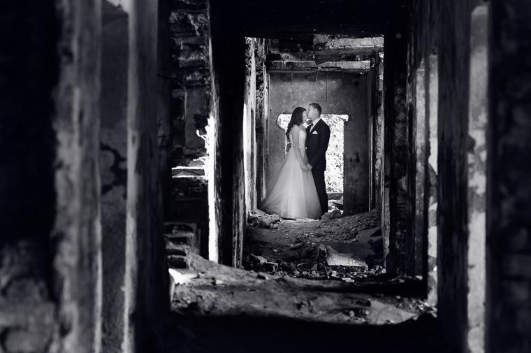 ruiny - Dolomity - śląsk - plener ślubny